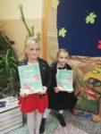 Uczennice Szkoły Podstawowej nr 2 Laura Osiadacz i Zuzanna Rusinek odniosły sukces na I Konkursie Pieśni i Utworów Patriotycznych w Golubiu-Dobrz (1)