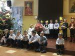 Grupa Wiewiórki z Przedszkola mIejskiego Bajka z wizytą u Domu Pomocy Społecznej - 10 stycznia 2019 r (10)