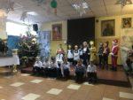 Grupa Wiewiórki z Przedszkola mIejskiego Bajka z wizytą u Domu Pomocy Społecznej - 10 stycznia 2019 r (9)