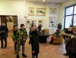 Podczas pierwszego tygodnia ferii w Szkole Podstawowej nr 2 w Wąbrzeźnie odbywały się półkolonie zimowe dla uczniów z klas 1 - 5. Styczeń 2019 r (4)