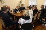 W Urzędzie Miasta trwają rozmowy w sprawie powołania do życia uczniowskiej rady miasta - 9 stycznia 2019 roku 2. Fot. A.Borowska