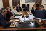 W Urzędzie Miasta trwają rozmowy w sprawie powołania do życia uczniowskiej rady miasta - 9 stycznia 2019 roku.Fot.A.Borowska 1