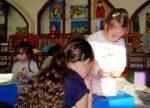Tematem ostatnich warsztatów animacyjnych dla dzieci, które odbywają się w WDK, była Wielkanoc (22)