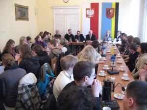 """Spotkanie podsmowujące projekt """"Comenius"""""""