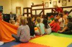 Animki organizowane w Wąbrzeskim Domu Kultury są coraz popularniejsze. Dzieci chętnie korzystają z tej propozycji.Październik 2019r (23)