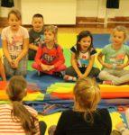 Animki organizowane w Wąbrzeskim Domu Kultury są coraz popularniejsze. Dzieci chętnie korzystają z tej propozycji.Październik 2019r (25)
